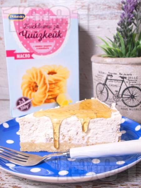 Чийзкейк с орехи и мед - снимка на рецептата